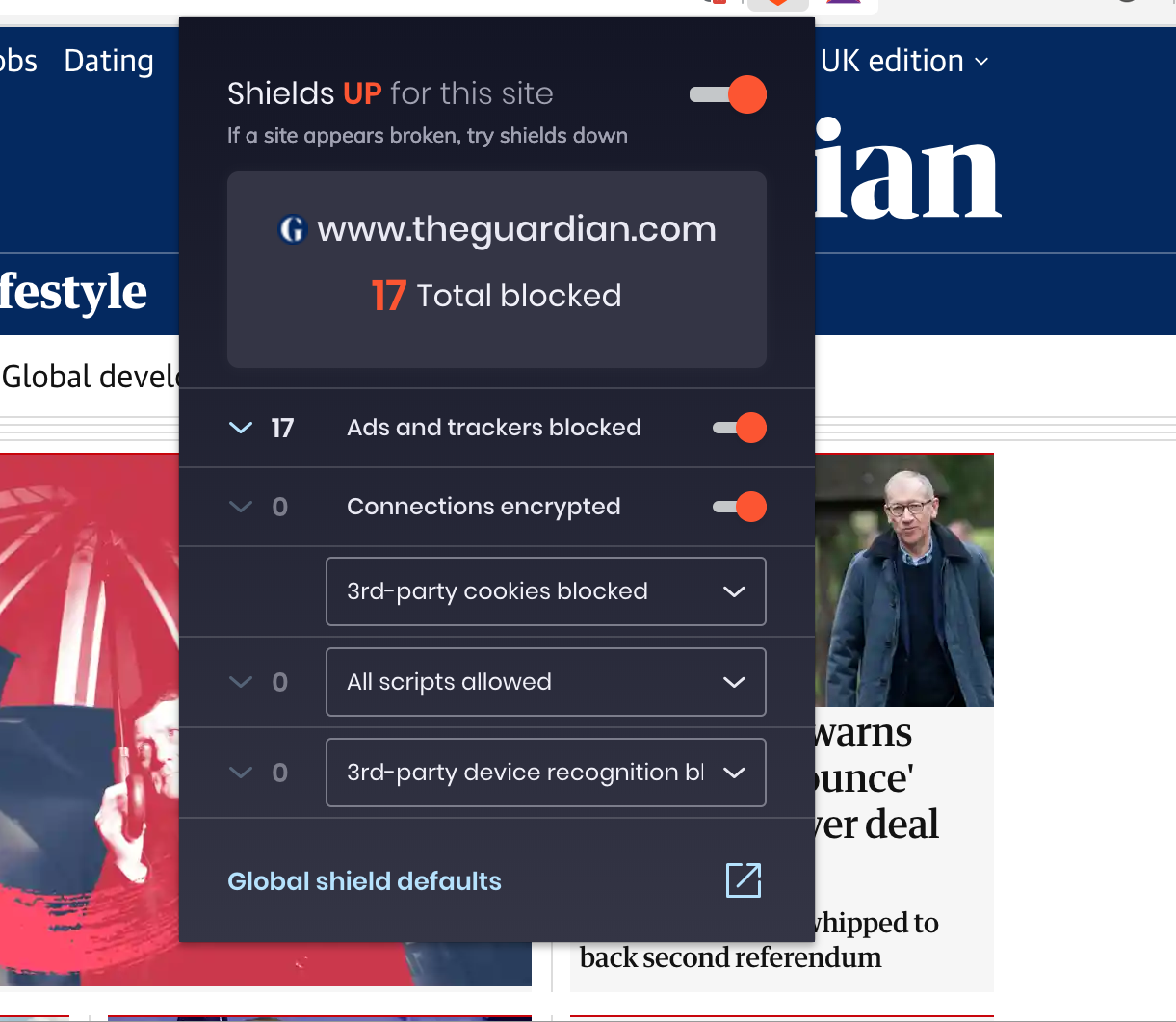 Brave vs Google Chrome (with ad blockers)   Tom Kadwill